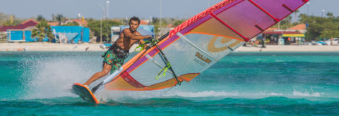 Windsurfing on our amazing blue waters